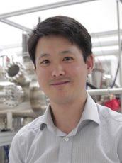Jason Kawasaki in the lab