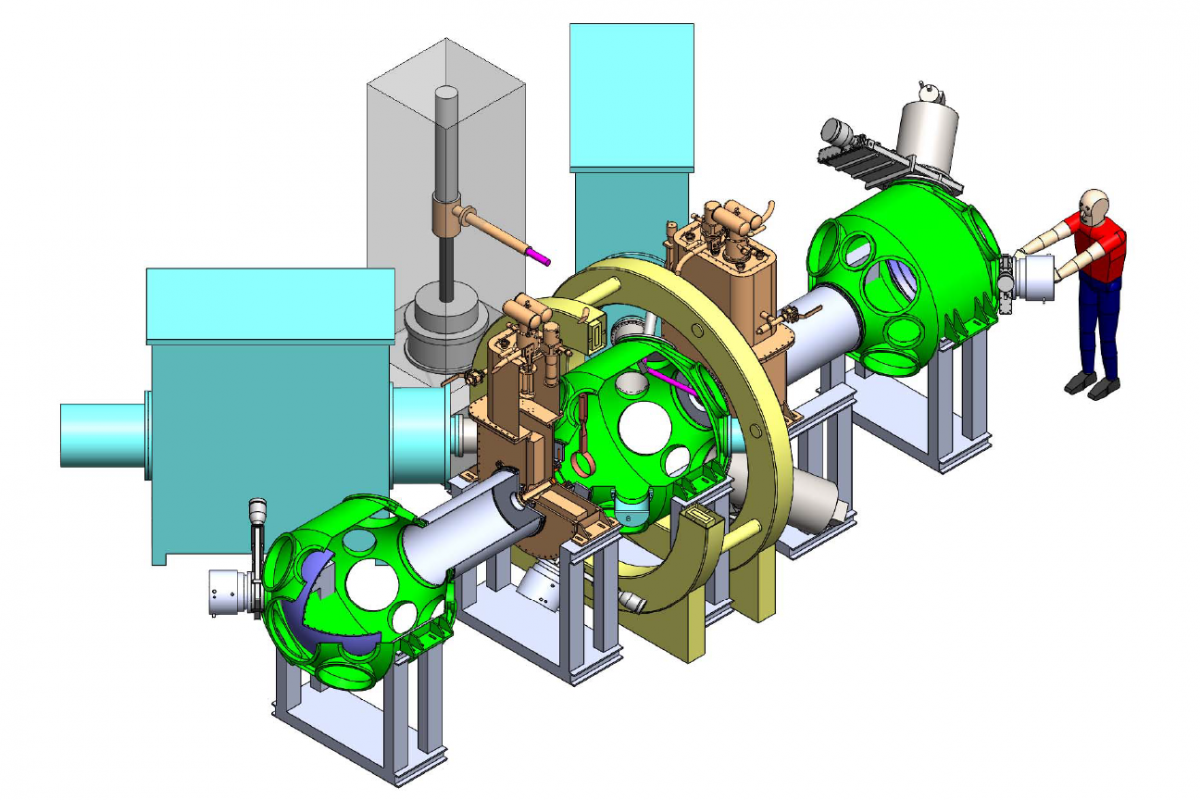 cartoon image of a mirror machine